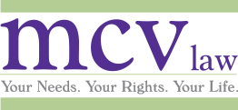 Syracuse workers compensation lawyers company logo at mcv law near syracuse ny and watertown ny