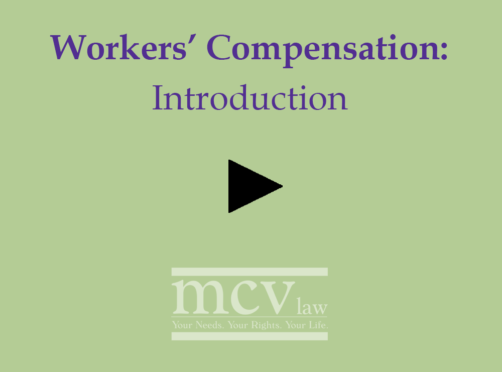Introduction to Worker's Comp